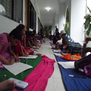 জাতীয় শোক দিবস ও বঙ্গবন্ধু এঁর ৩৯তম শাহাদাত বার্ষিকী উপলক্ষে আয়োজিত চিত্রাংকন প্রতিযোগীতা